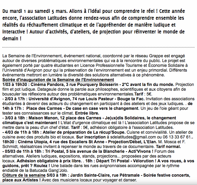 Provence SDE